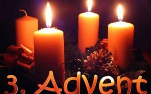 THIRD SUNDAY OF ADVENT – DECEMBER 16, 2018